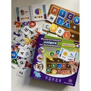 Игра настольная развивающая Интерактивная азбука на английском Pic`n Mix