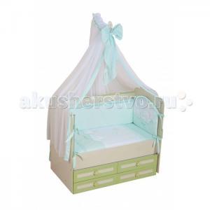 Комплект в кроватку  Греческий (7 предметов) Селена (Сдобина)