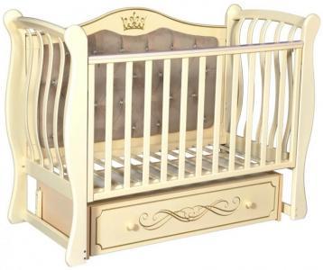 Детская кроватка  Olivia 2 универсальный маятник Кедр
