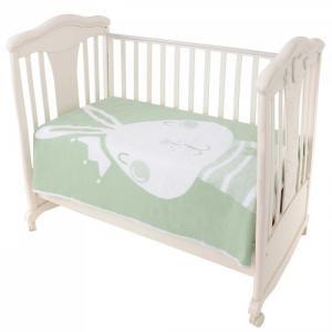 Одеяло Ермошка байковое премиум Омела зайка 140x100 см Ермолино