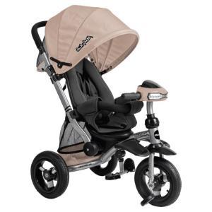 Трехколесный велосипед-коляска  Stroller trike 10x10 AIR Car, цвет: кофе Moby Kids