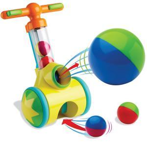 Каталка-игрушка  Катапульта с мячами Tomy