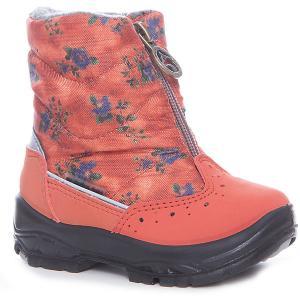 Сапоги  для девочки Alaska Originale. Цвет: оранжевый