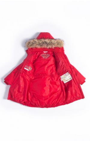 Пальто  Tea, цвет: красный Nels