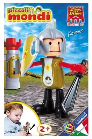 Конструктор  Piccoli Mondi Wizard & Dragon Konnor Plastwood