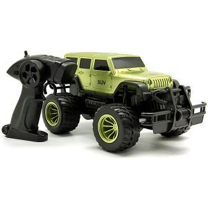 Машина на радиоуправлении  Внедорожник 1:14, зеленый металлик Balbi. Цвет: разноцветный