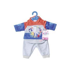 Одежда для куклы  Baby Born Цветочный костюм, синий Zapf Creation