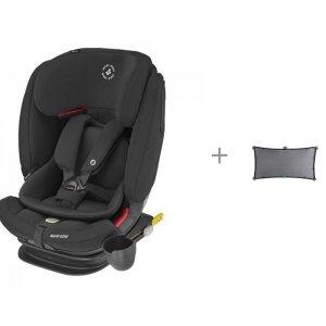 Автокресло  Titan Pro и Шторка солнцезащитная Munchkin Brica Stretch To Fit Shade Maxi-Cosi