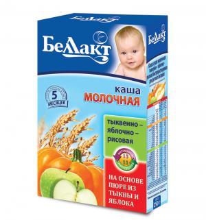 Каша  молочная тыквенно-яблочно-рисовая с 5 месяцев 250 г Беллакт