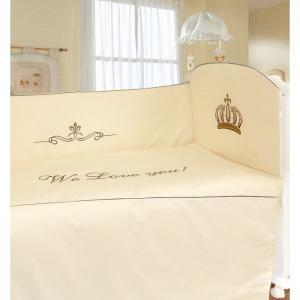 Комплект в кроватку  Сонное царство (6 предметов) Labeille