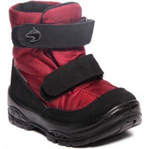 Утепленные ботинки Alaska Originale. Цвет: красный