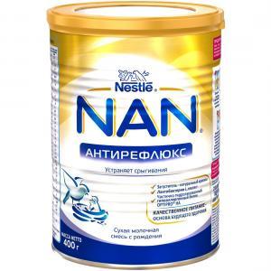 Молочная смесь  Антирефлюкс с рождения, 400 г Nan