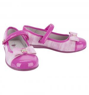 Туфли , цвет: розовый Думми