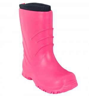 Резиновые сапоги  Frillo, цвет: розовый Reima