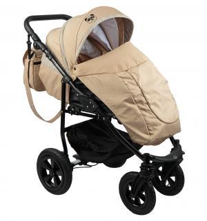 Прогулочная коляска  Tour, цвет: коричневый/бежевый Mr Sandman