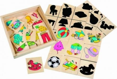 Деревянная игрушка  Игра Что к чему относится Bino