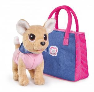 Мягкая игрушка  Плюшевая собачка Городская мода 20 см Chi-Chi Love