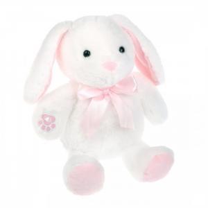 Мягкая игрушка  озвученная Зайка Снежок 23 см Fluffy Family