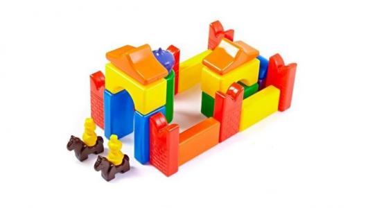Развивающая игрушка  Строительный набор Скит-2 26 элементов СВСД