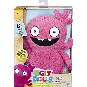 Мягкая игрушка Ugly Dolls Мокси 33 см, звук Hasbro. Цвет: разноцветный