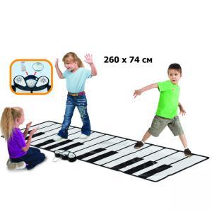 Игровой коврик  Музыкальное напольное пианино Zippy mat EvoLife
