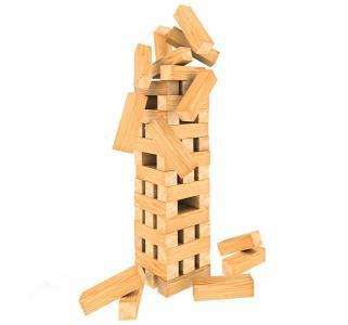Настольная игра  Падающая башня. Гигант Spin Master
