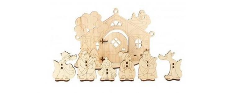 Деревянная игрушка  Детский театр Красная Шапочка Woody
