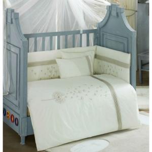 Комплект в кроватку  Blossom Saten (4 предмета) Kidboo