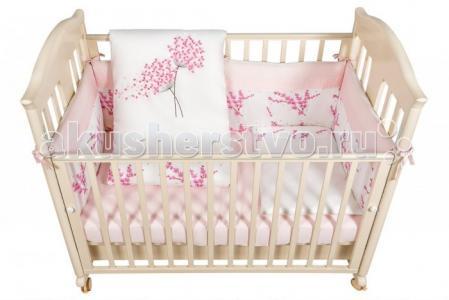 Комплект в кроватку  Blossom (6 предметов) Bebe Luvicci
