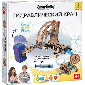 Сборная модель  Smartivity Гидравлический кран, 256 деталей Росмэн. Цвет: бежевый