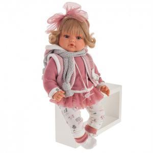 Кукла Лорена в розовом озвученная 42 см Munecas Antonio Juan