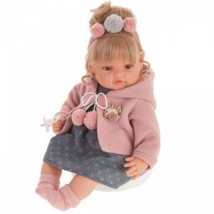 Кукла Пилар в розовом озвученная 42 см Munecas Antonio Juan