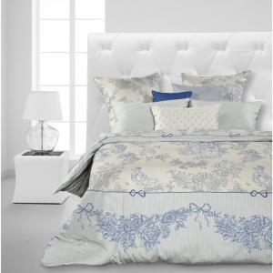 Комплект постельного белья Toile de Jouy, 1,5 спальное, (70*70), перкаль, Carte Blanche
