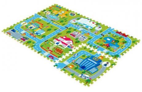 Игровой коврик  Счастливый город Mambobaby