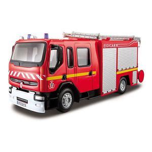 Пожарная машинка  Renault Premium, 1:50 Bburago