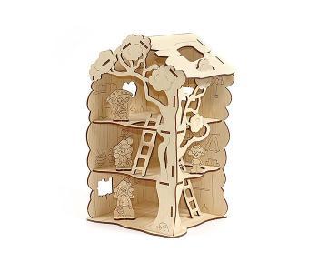 Дом-дерево для Лешиков (22 элемента) Woody