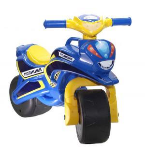 Байк  Полиция, цвет: синий/желтый Doloni