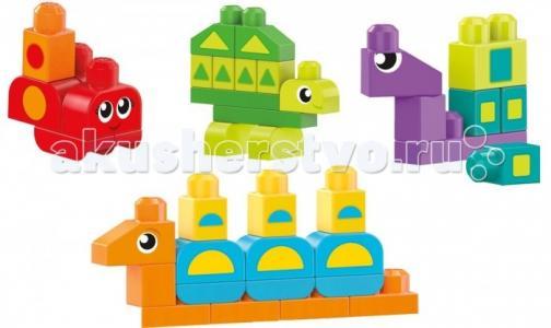 Конструктор  обучающий Разные формы Mega Bloks
