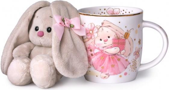 Набор подарочный: кружка и игрушка Зайка Ми Budi Basa