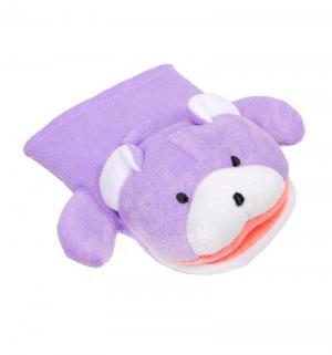 Мочалка-рукавичка  с животными Сказка