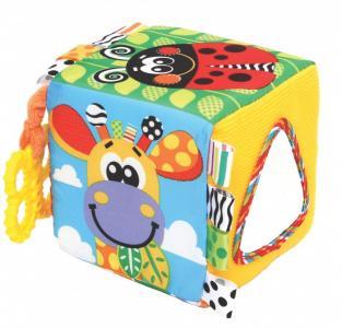 Развивающая игрушка  Кубик с набивкой Playgro