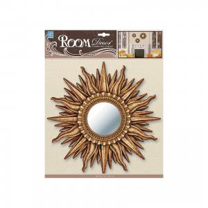 Декоративное зеркало среднее № 2, , золото Room Decor