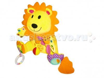Мягкая игрушка  Занятой лев Biba Toys