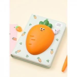 Блокнот со сквишем Морковка Carrot Friends А5 Mihi