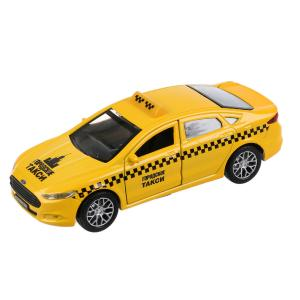 Машина инерционная  Ford Mondeo такси 12 см Технопарк