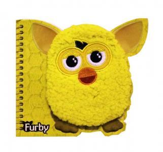 Книга записная 40л  желтая Furby
