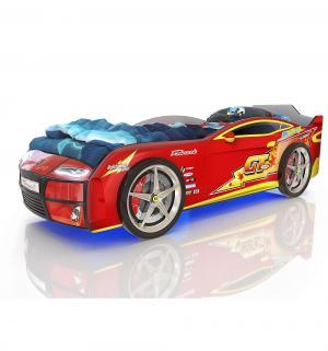 Кровать-машинка  Kiddy Красная молния, цвет: красный Romack