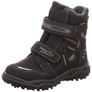 Утепленные ботинки Superfit. Цвет: черный/серый