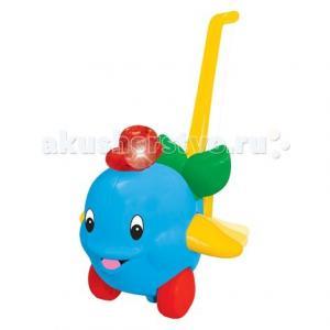 Каталка-игрушка  с ручкой Дельфин Kiddieland