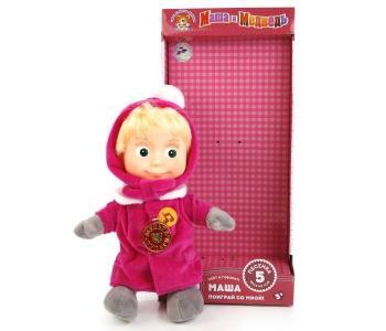 Мягкая игрушка  Маша в зимней одежде 29 см Мульти-пульти